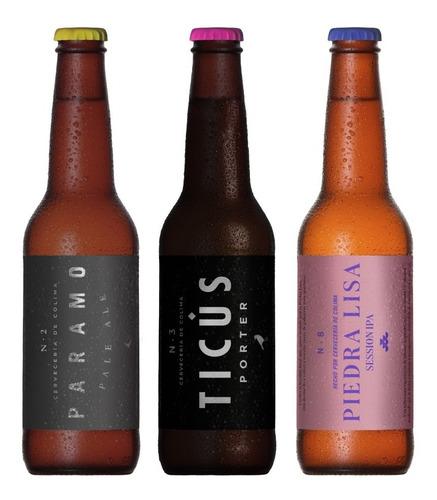12 Pack Cerveza Ales Botella 355ml