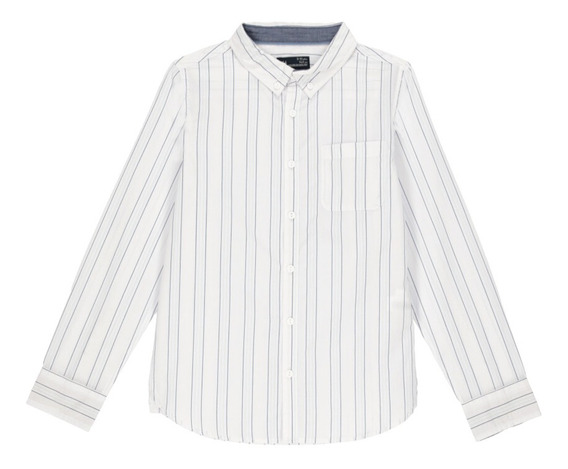 Camisa Estampado A Rayas C&a (mod 1056164)