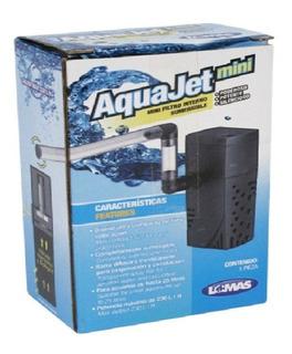 Filtro Interno Mini Aquajet Tortuguero Pecera Pequeña