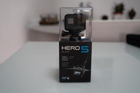Gopro 5 Hero Black Na Caixa + Bateria Extra + Carregador