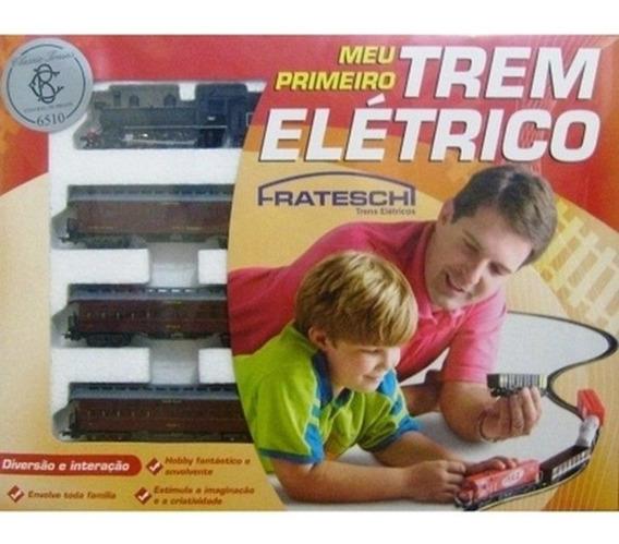 Set Basico Con Locomotora A Vapor H0 Frateschi 6510