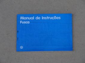 Manual De Instruções Novo Fusca 1985 1986 Novo Em Branco