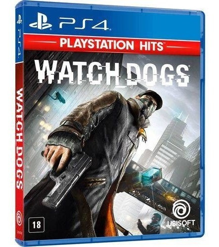 Jogo Watch Dogs Playstation 4 Ps4 Midia Fisica Original