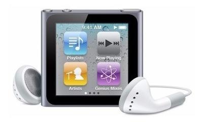 iPod Nano, 8 Gb Sexta Generación.