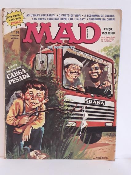 Revista Mad N° 66 Editora Vecchi, Edição Rara Aproveite