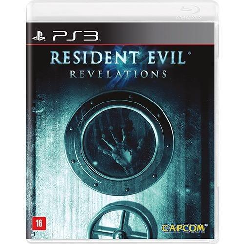 Resident Evil Revelations - Ps3 Mídia Física