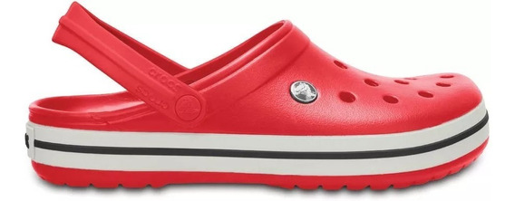 Crocs Originales Crocband Roja Unisex | Hombre Mujer