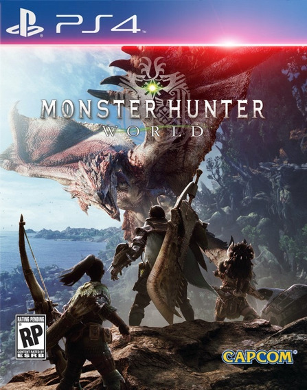 Monster Hunter World Original 1 Locação 10 Dias