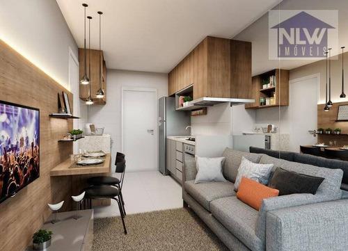 Apartamento Com 1 Dormitório À Venda, 27 M² Por R$ 177.120,00 - Vila Das Belezas - São Paulo/sp - Ap2589