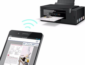 Impressora Multifuncional Epson Wifi L396 -tinta Comestivel