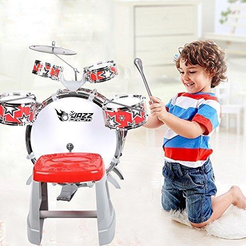 Colortree Kids Jazz Drum Con Chiar Instrumento Musical De Ju