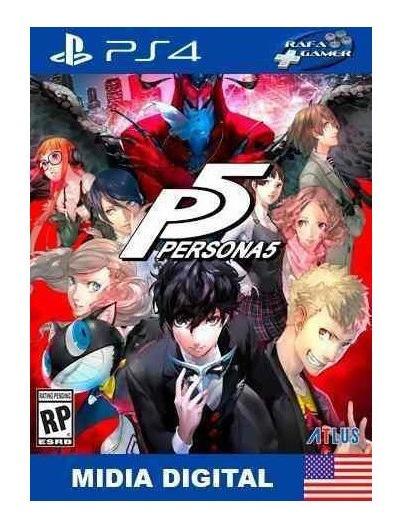 Persona 5 | Ps4 2 Promoção
