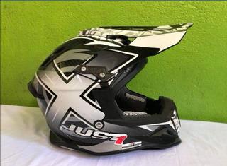Casco Moto CrossNuevo Talla Xxl Carbono