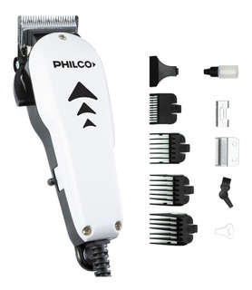 Maquina Corta Pelo Y Barba Profesional Philco Autoafilable