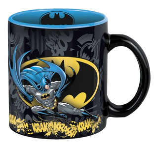 Taza Cafe Batman Batiseñal Original Dc Comics