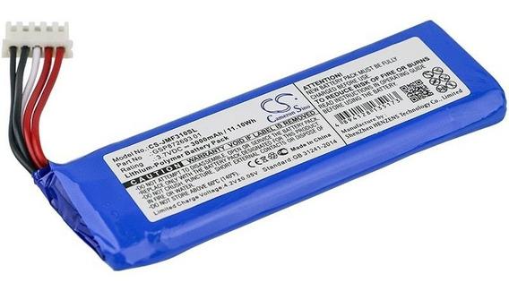 Bateria Jbl Flip 4 Edição Especial Cameron Sino 3000mah