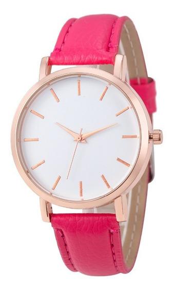 Reloj Para Mujer Dama Elegante De Pulsera Tipo Cuarzo Colors