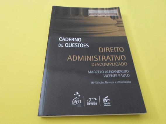 Caderno De Questões - Direito Constitucional Descomplicado