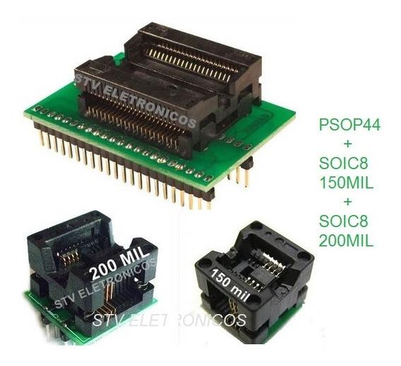 Psop44 + Soic8 150+200mil Adaptater Universal Prontaentrega