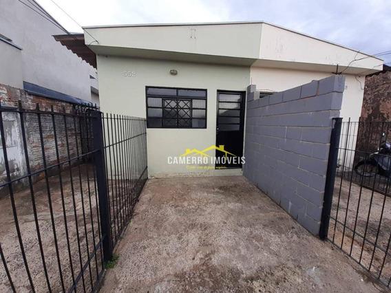 Casa Com 2 Dormitórios Para Alugar, 75 M² Por R$ 800,00/mês - Jardim Ipiranga - Americana/sp - Ca2323