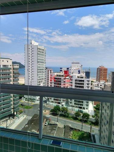 Apartamento Com 2 Dormitórios À Venda, 100 M² Por R$ 595.000,00 - Canto Do Forte - Praia Grande/sp - Ap10142