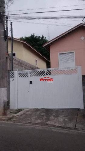 Sobrado Com 2 Dormitórios À Venda, 65 M² Por R$ 297.000,00 - Parque Santa Laura - Ferraz De Vasconcelos/sp - So2864