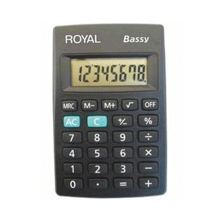 Calculadora Royal Bassy 8 Digitos Tecla De Memoria C00260m