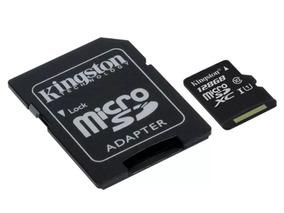 Cartão De Memória Micro Sd Kingston De 128gb