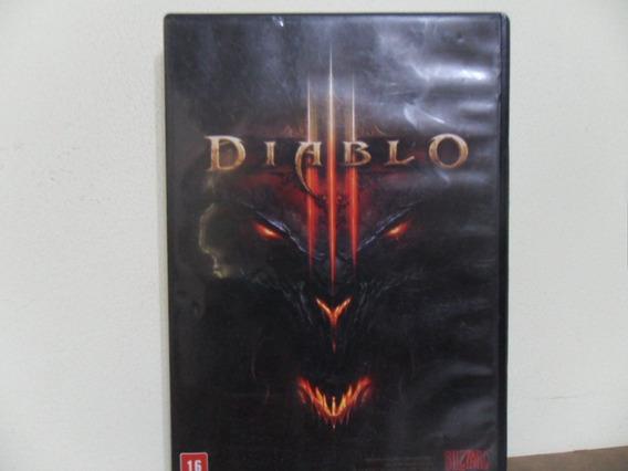 Diablo 3 Pc - 100% Original (blizzard Key Demo) Perfeito