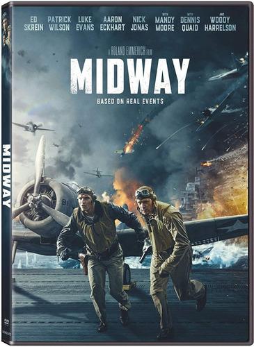 Midway Batalla En El Pacifico 2019 Pelicula Dvd Mercado Libre