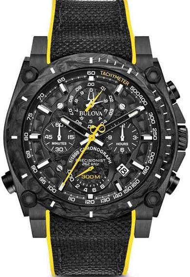 Relógio Masculino Cronógrafo Bulova Precisionist 98b312