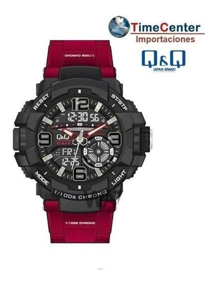 Reloj Q&q, G-shock, 10bar, Luz Led, Alarmas, Timer, Cronomet