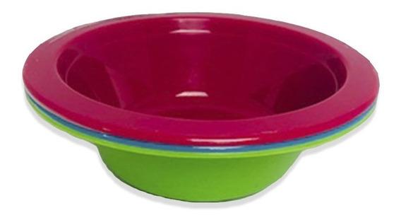 Pack 3 Mini Bowl Light Plástico Torosqui Assorted