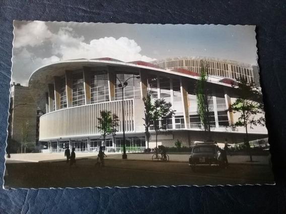 Tarjeta Postal - Palacio De Los Deportes - Madrid , España