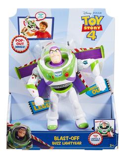 Toy Story 4 - Buzz - Sonidos - Abre Las Alas - Mattel