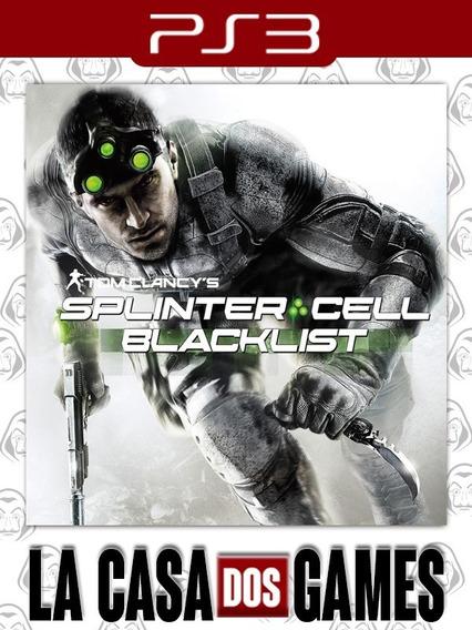 Tom Clancyssplinter Cellblacklist - Dublado Pt -psn Ps3