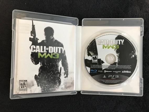 Call Of Duty Mw3 Modern Warfare 3 - Ps3 Midia Física