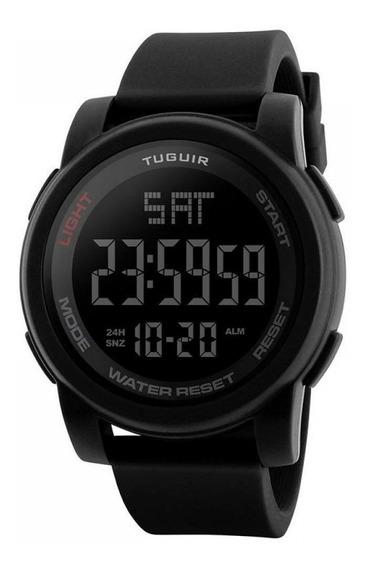 Relógio Masculino Tuguir Digital Tg1257 Preto