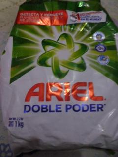 Detergente En Polvo Ariel
