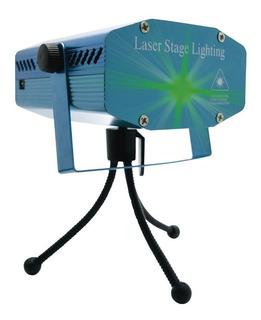 Laser Color Efecto Dj Audioritmico Figuras Fiesta Proyector