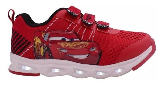 Zapatillas Addnice Cars Extreme Flex Con Luz Fty Calzados