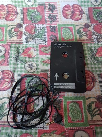 Cassette Adaptador Para Auto Aiwa Mp3 iPod Celular