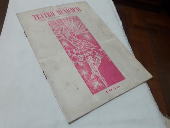 1956 Programa Ballet Do Rio De Janeiro / Daphne Dale