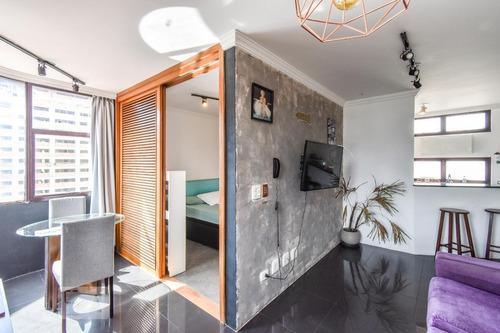 Apartamento À Venda - Jardim Paulista, 1 Quarto,  41 - S892948052