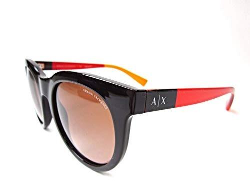 Armani Exchange Ax4053s 817513-51 Sunglasses Phantom Brown F
