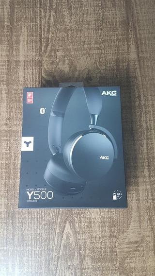 Fone Estéreo Akg Y500 Bluetooth On Ear (lacrado C/nf)
