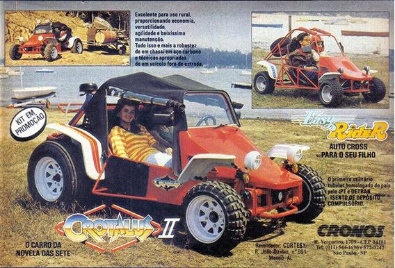 Mini Buggy - Mini Crotalus - Não Licenciavel.