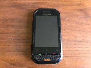 Motorola Nextel Para Refacciones O Cambiar Pila