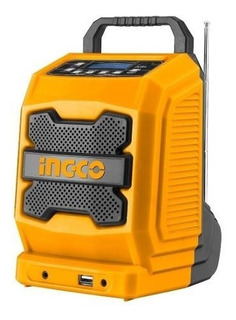 Radio A Bateria Bluetooth 20v Ingco Ft