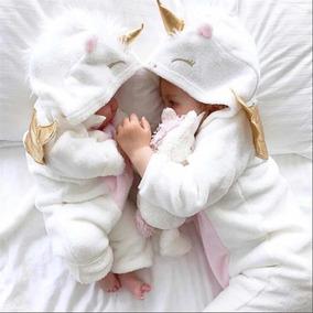 Macacão Bebê Plush Bichos Unicórnio Menina Promoção Liquida